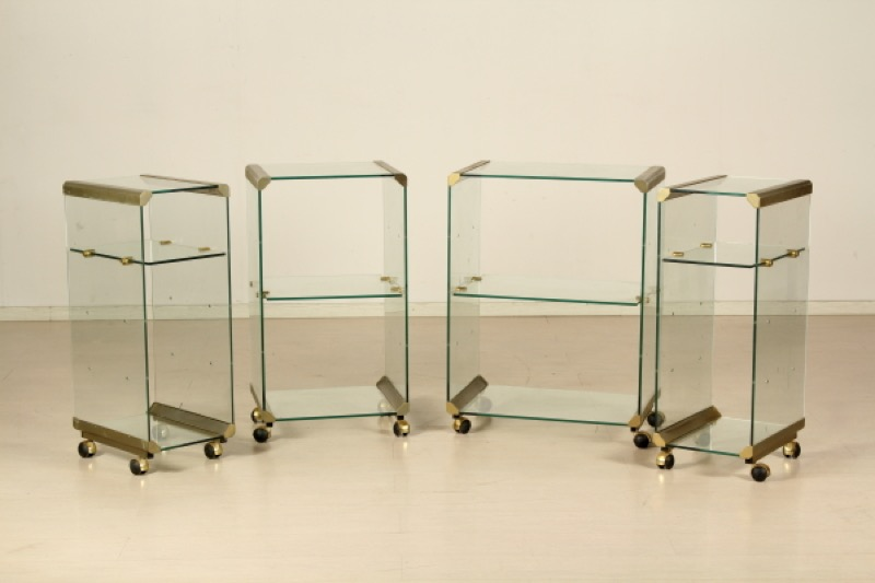 Design 4 etagere stile willy rizzo for Mobili willy rizzo